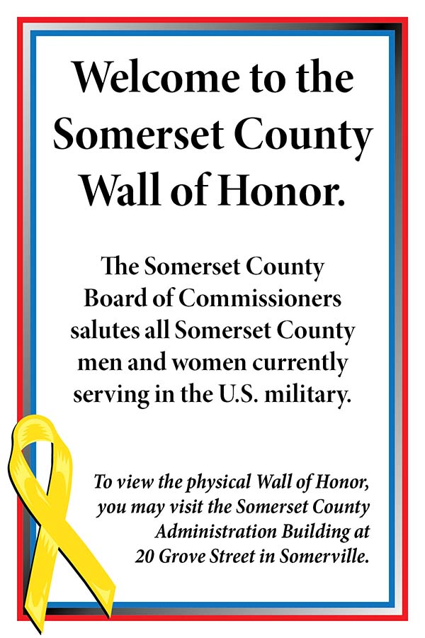 Somerset Couty Wall of Honor