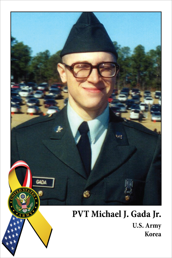 Pvt Michael J. Gada, Jr.