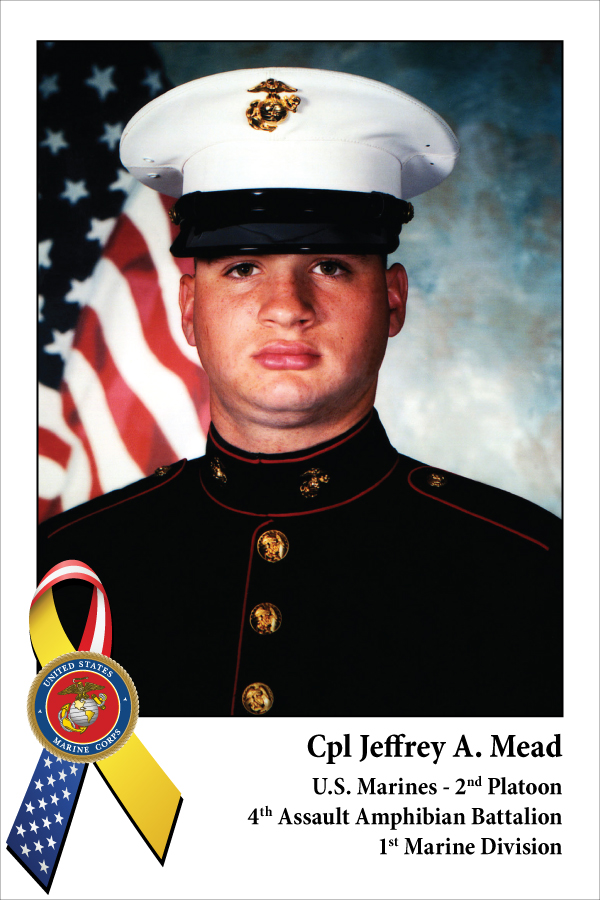 Cpl Jeffrey A. Mead