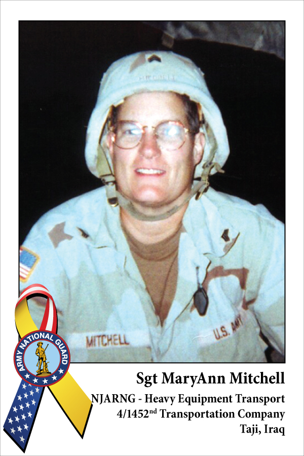 Sgt MaryAnn Mitchell