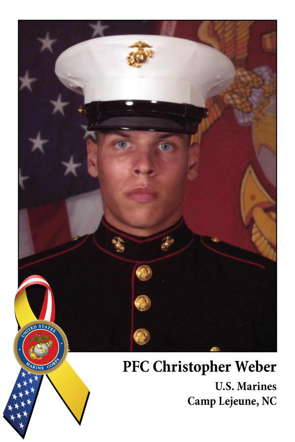 PFC Chirstopher Weber