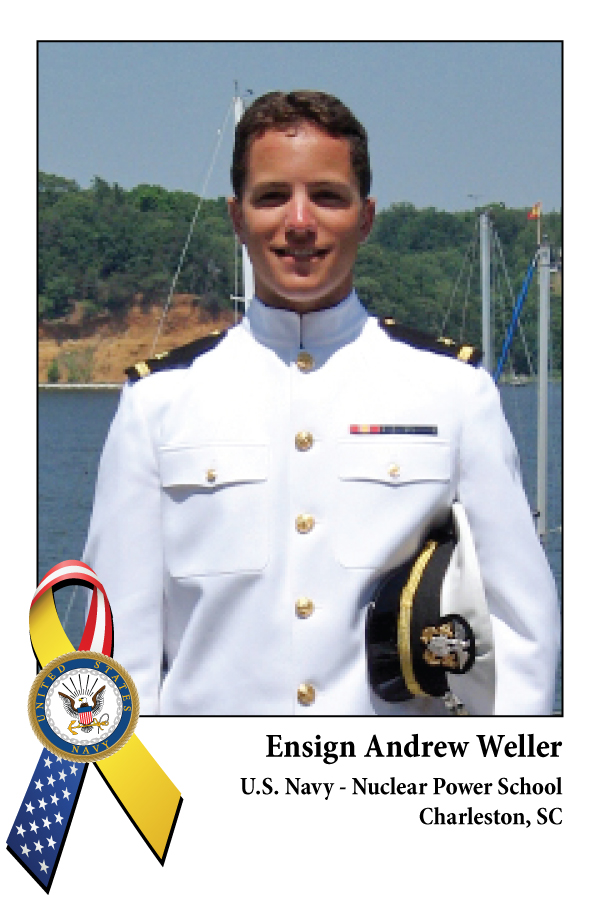Ensign Andrew Weller