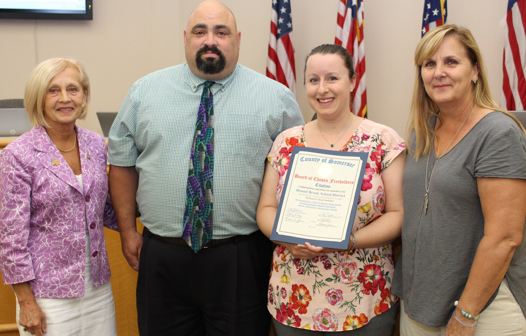 20170627-CITATION-Bound Brook Schools Curbing Hunger Month-cropped