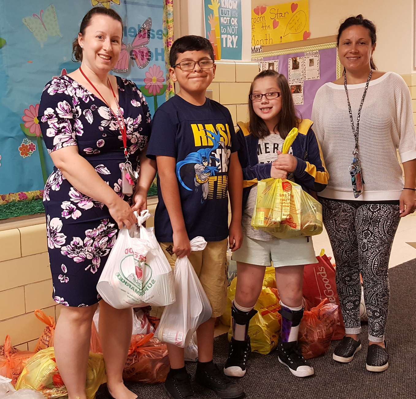 2017 Smalley School - Curbing Hunger Month