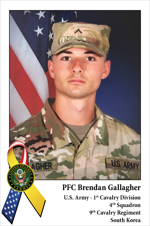 PFC Brendan Gallagher