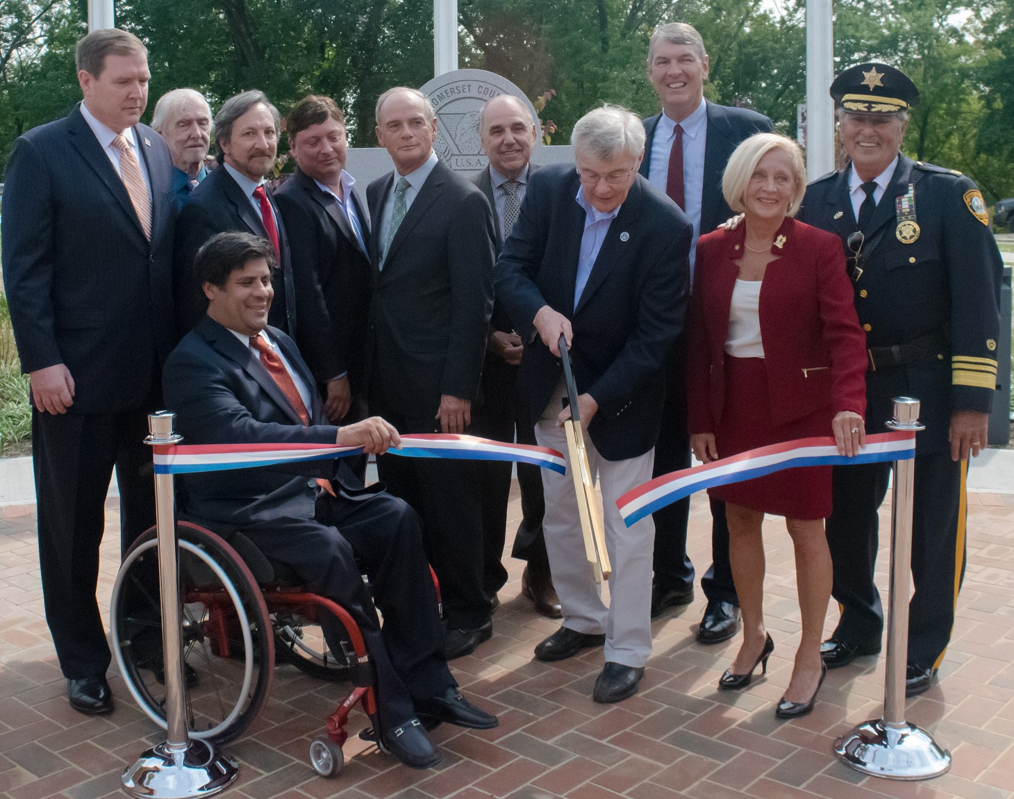 Raritan Veterans Park Ribbon-cutting Ceremony