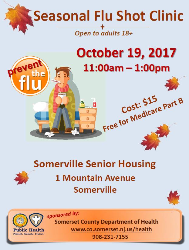 Somerville Flu Shot Clinic 2017