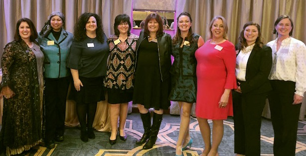 2018 Outstanding Women Honorees at Awards Dinner