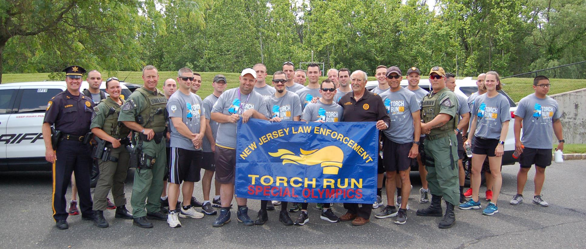 Sheriff's Officers, 2018 Torch Run for Special Olympics