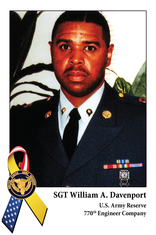 Sgt William A. Davenport