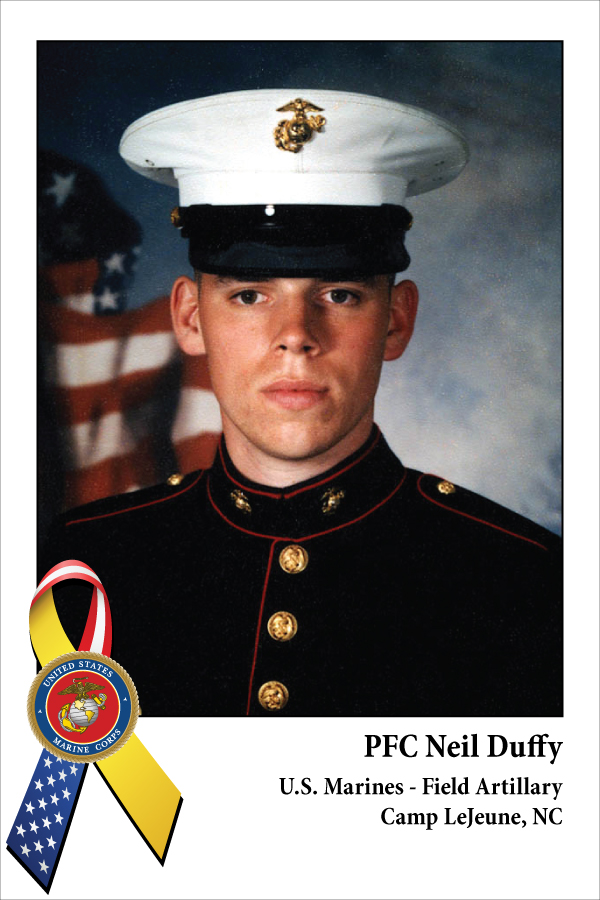 PFC Neil Duffy