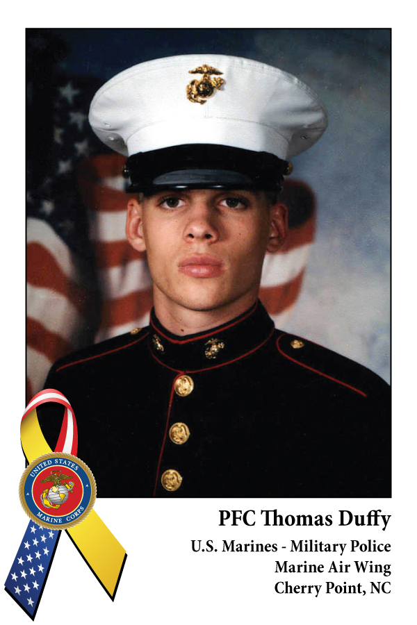 PFC Thomas Duffy