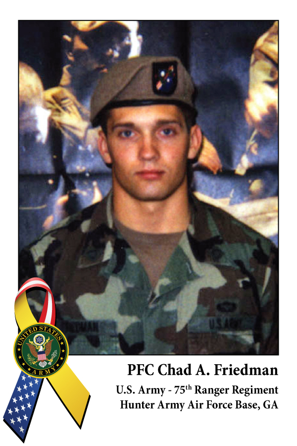 PFC Chad A. Friedman