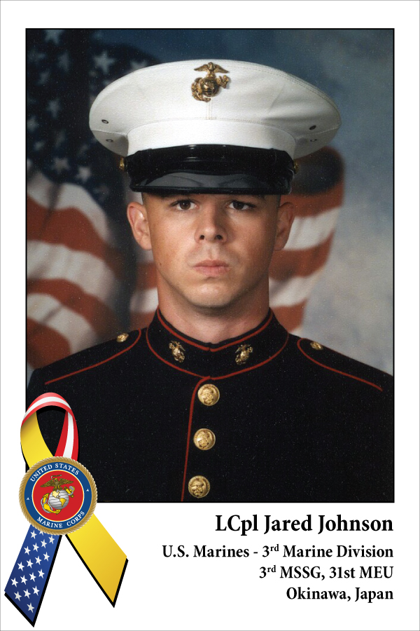 LCpl Jared Johnson