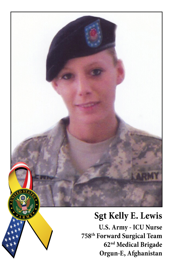Sgt Kelly E. Lewis