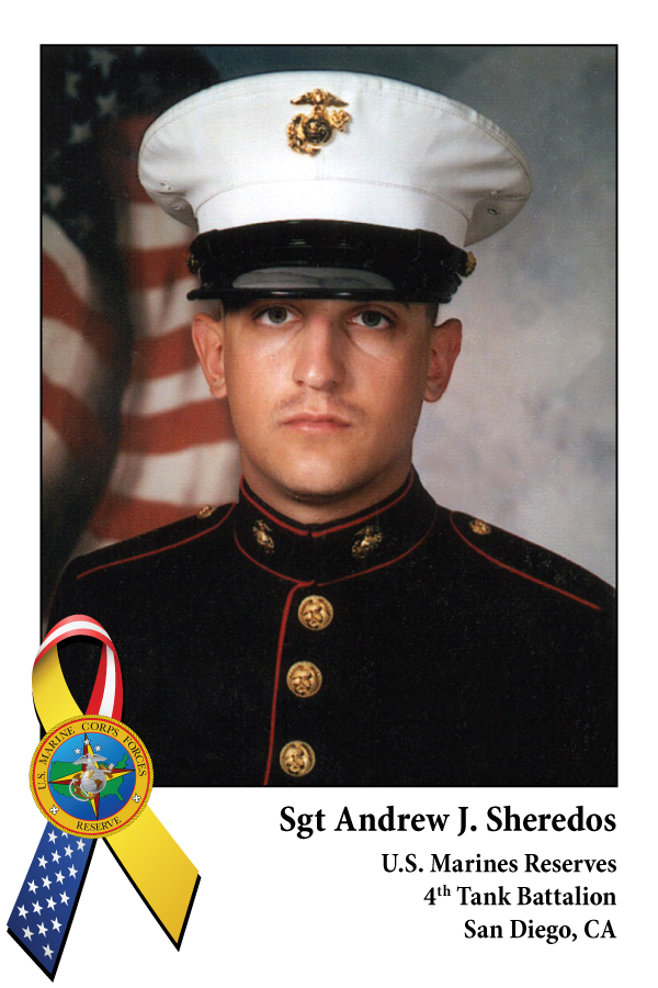 Sgt Andrew J. Sheredos