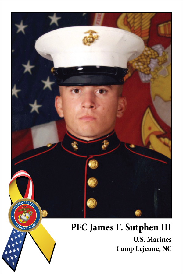 PFC James F. Sutphen III