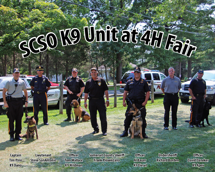 SCSO K9 Unit at the 4H Fair