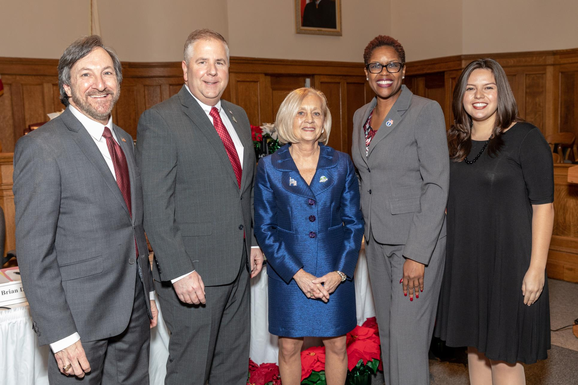 Freeholders, Levine, Gallagher, Walsh, Robinson, Sooy