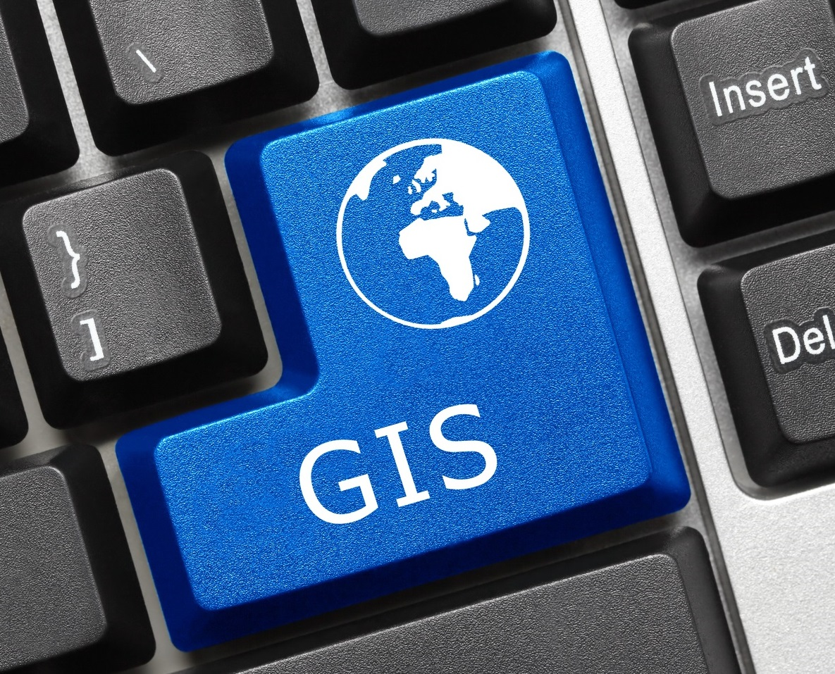 GIS keyboard button