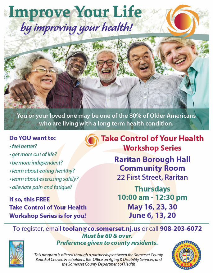 take control of your health 5.16