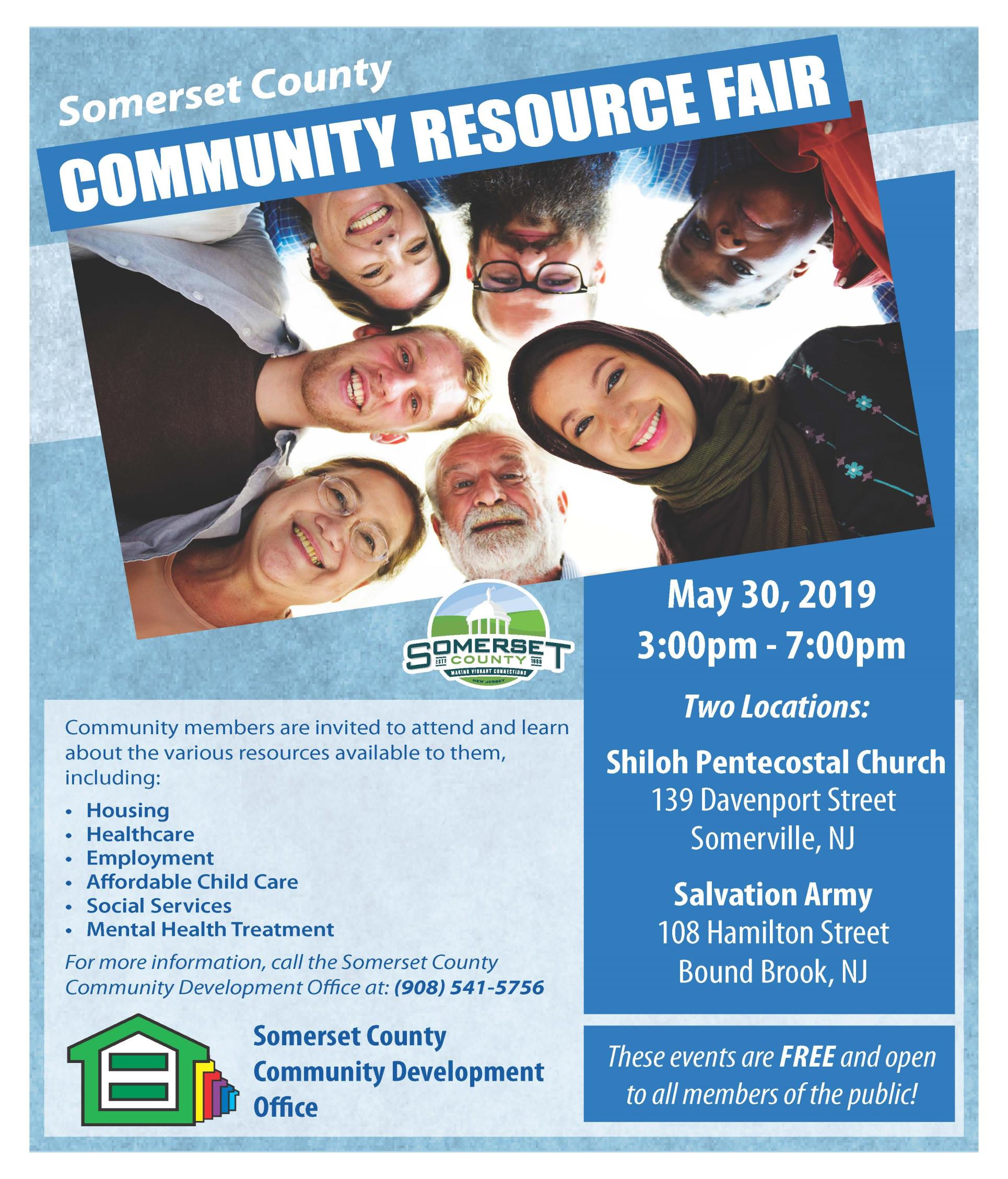 2019 Community Resources Fair Flyer