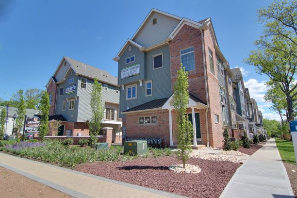 Gramercy Townhomes exterior