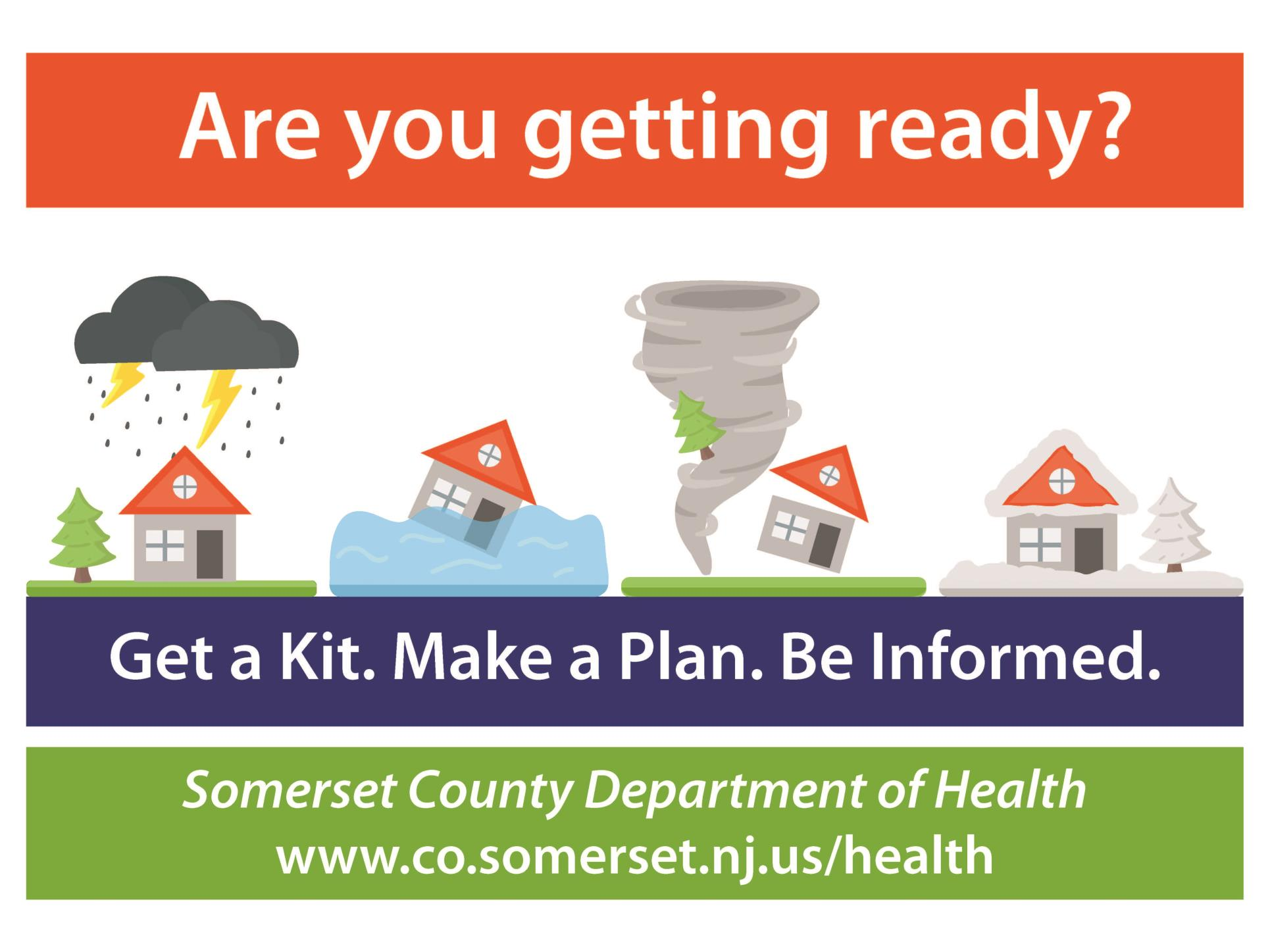 Are you Getting Ready Preparedness Poster