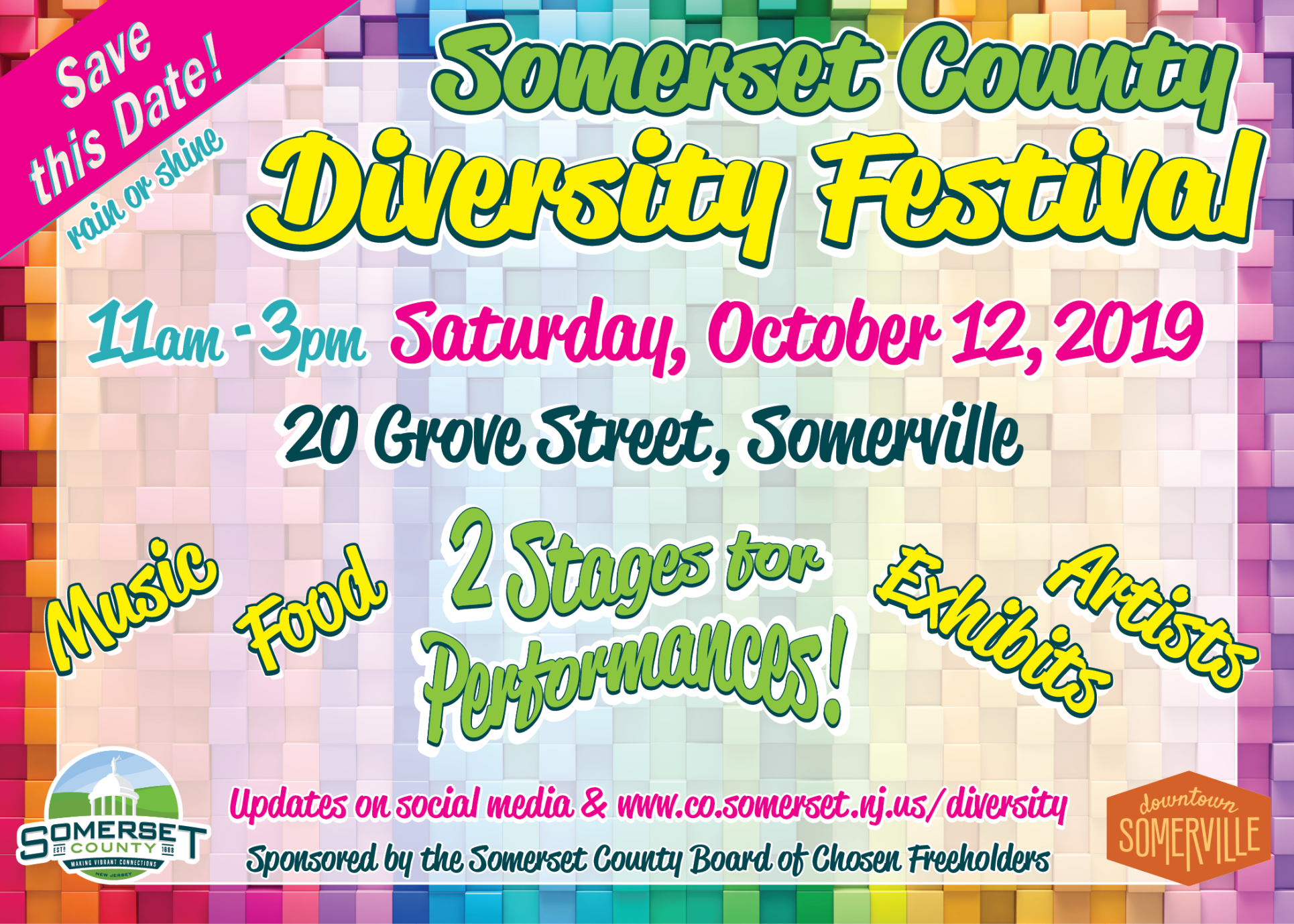 Diversity Festival Save The Date