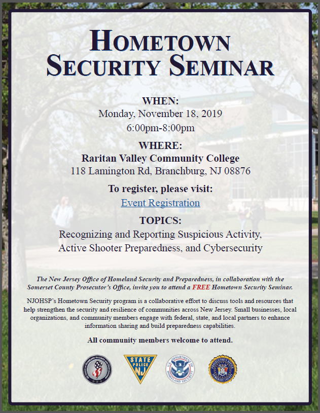 RVCChometownsecurityseminar