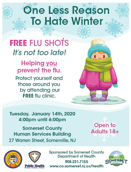 Late flu shot clinic 1-14-20