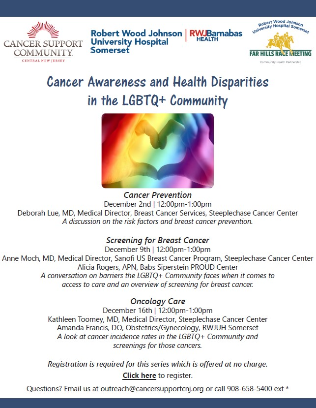 cancer lgbtq series
