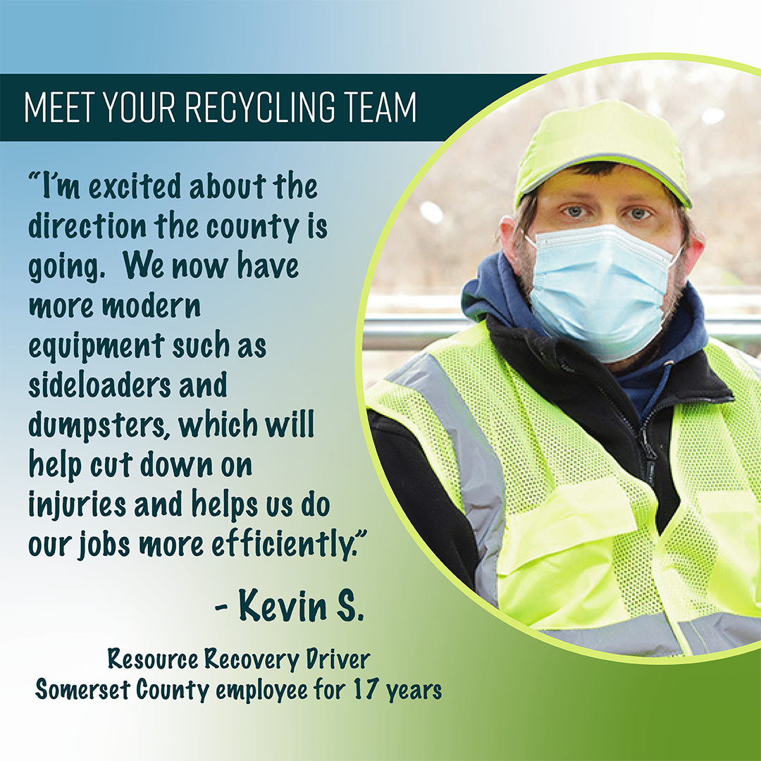 Kevin S. - Resource Recovery Driver, 17 yrs