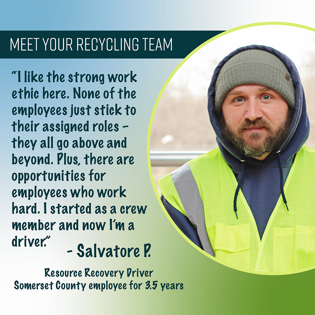 Salvatore P. - Resource Recovery Driver, 3.5 yrs