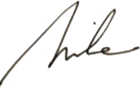 Mike Frost Signature