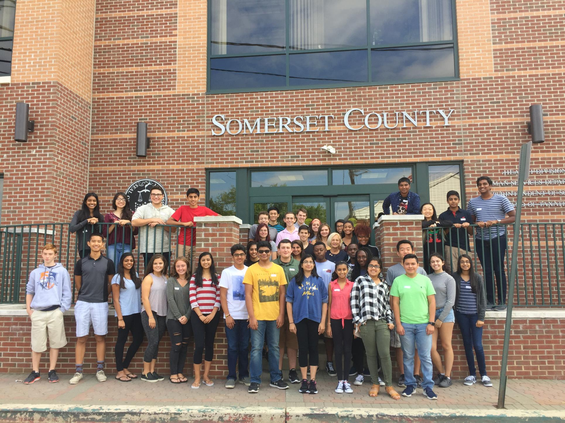 Youth Leadership Somerset Class of 2016-2017